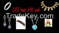 Wholesale Jewelry  LESS than 3.90 each discounted wholesale jewelry
