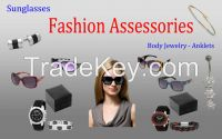 Wholesale Fashion Accessories, Watches, Key Chains, Body Jewelry, Sunglasses, Belts Anklets and more