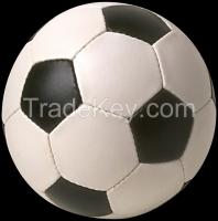 Hot Sale 2015 Soccerball / Football PU/Leather Hand made and machine sewn both possible