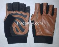 Leather Men Women Children Weightlifting Fitness Gloves Wholesale for Custom Gym / Stores