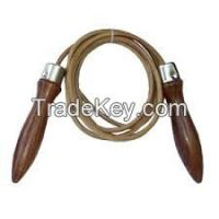 Durable Fitness Jumping Rope in leather skipping ropes and nylon skipping ropes, promotional skipping ropes