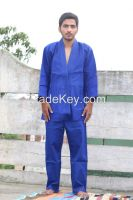 100% cotton Blue Judo suit for child
