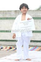 Customize kids karate Uniform in 100% Cotton , children Karate Kimono gi for clubs , schools and academies