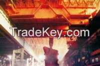 Metallurgy crane and melting crane rolling crane