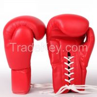 Leather Professional boxing gloves , Sports gloves , Boxing gloves , Artificial Leather Boxing gloves