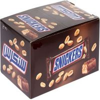 Snickers, Bounty, Twix, Milky Way and Galaxy Chocolate Bars