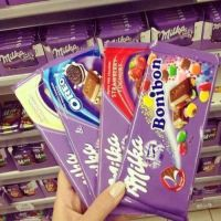 Milka  Chocolate all sizes