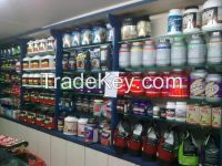 Sport supplement nutrition whey protein