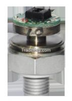 Micro fused  one piece construction leak proof pressure transducer