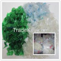 PET flakes hot washed/ PET bottle flakes/PET bottle scrap
