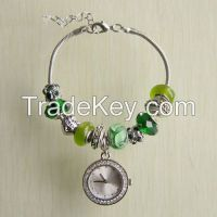 Fashion style beaded bracelet and watch sets