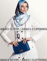2015 new fashion scarf  hijab headscarf islamic square shoulder bag topcoat overcoat long coat slevee
