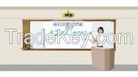 100 inch 4m length Interactive whiteboard learning system