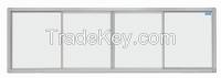 Silver-grey dust-free writing board