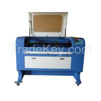 80W CO2 laser engraving and cutting machine for wood board, acrylic, leather