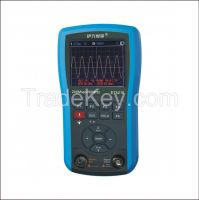 ET521S Colored Handheld Oscilloscope 50MHz bandwidth/156kHz signal generator/LED backlight
