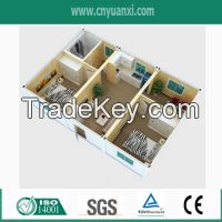 Lowest Cost Prefabricated Flat Pack Container House