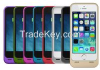 Sell Real capacity 2300mAh external protective backup battery charger case for iPhone 5/5S