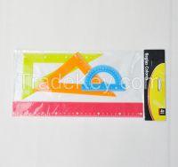 Colorful Ruler Set
