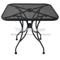 Steel outdoor Table garden furniture(ALL-OT3030)