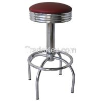 Swivel Chrome  Metal Frame chair  Bar stool