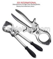 Sell veterinary instruments and equipment