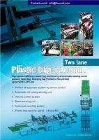 plastic bag machines, PE recycle material