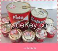 cheap price tomato paste brix 28-30% canned tomato sauce 210g tomato ketchup factory/manufacture/plant