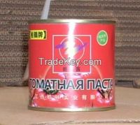 good flavor tomato product 140g canned tomato paste brix 28-30% hala food manufacturing