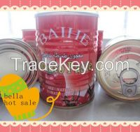 high quality canned tomato paste/tomato sauce/tomato ketchup xinjiang factory price