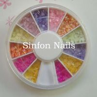 sell Pearl rhinestone&3D flower,glitter powder,glitter,crush shell