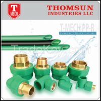 PPR pipe and fitting supply with ppr pipe price list in UAE
