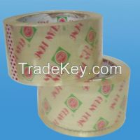Sell 17years factory strong adhesive  bopp packing tape