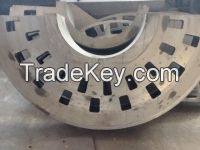 steel and iron castings as machinery parts