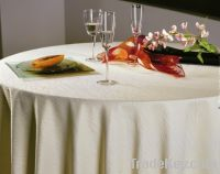 water stripe table cloth