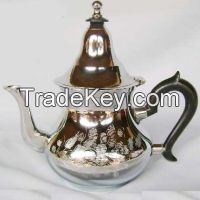 Metal coffee & teaset