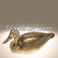 Metal Duck Statue