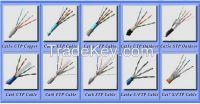 Factory price indoor UTP/FTP/SFTP Cat5/Cat6/Cat7 network cables