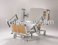 nitrocare  bariatric  4 motor electrical patient bed