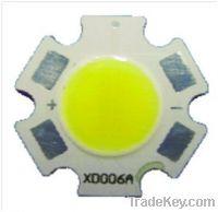 Sell 5W/6W/7W Aluminum substrate COB LED light source