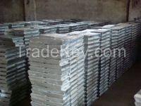 high grade zinc ingots