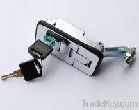 Flush mounted compression tool box locks