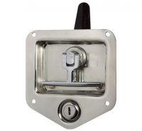 Drop T handle locks