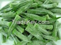 100% High Quality frozen okra