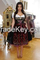 manufacturers and exporters of Leather/Fabric Bavarian Garments