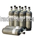 SCBA and life support cylinders