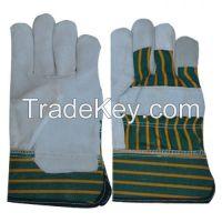 Working Gloves, Safety Gloves, Split Leather Gloves, Hot sale offer gloves,