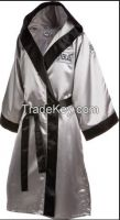 CUSTOM BOXING ROBE, FIGHTER ROBE, VESTS, JACKETS