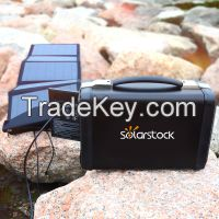 400W Portable Solar Power Station as Backup Power for Home / Camping