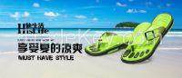 fashion durable eva slippers